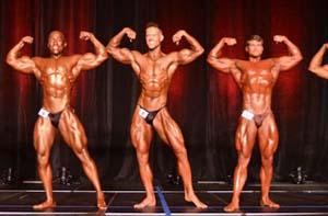 Males In WNBF Pro Bodybuilding & Mid-Figure Tournament.