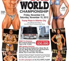 2012 WNBF & INBF World Championships Flyer.