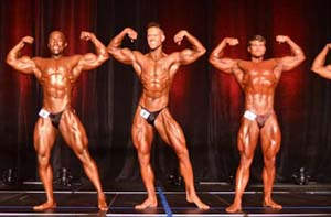 Males In WNBF Pro Bodybuilding & Mid-Figure Tournament.