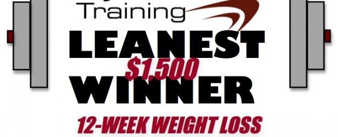 Beyond Limits Training 2012 Leanest Winner Logo.
