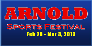 Arnold Sports Festival Event Information.