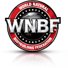 World Natural Bodybuilding Federation Logo.