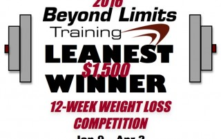 Beyond Limits Training 2016 Leanest Winner Logo.