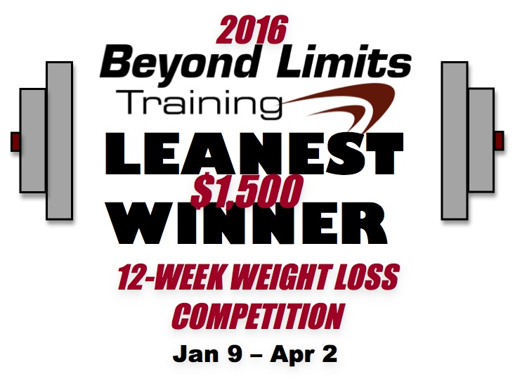 Beyond Limits Training 2014 Leanest Winner Logo.