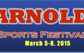 Arnold Sports Festival Event Details.