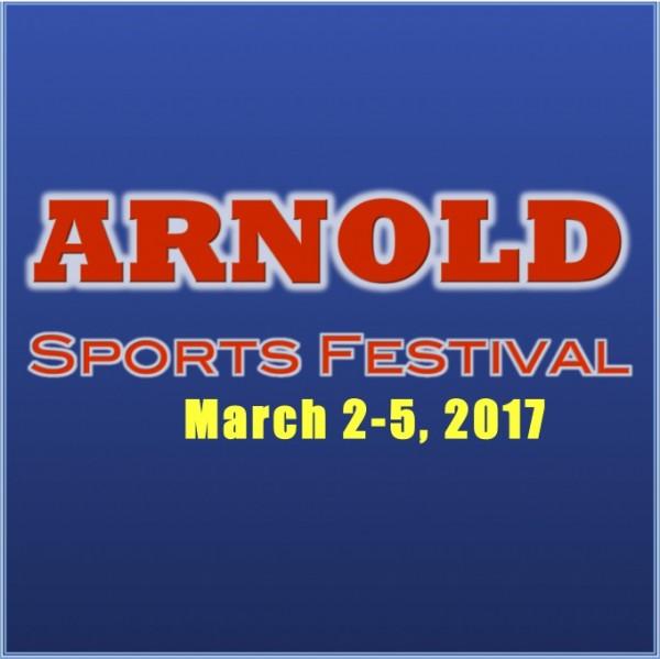 Arnold Weekend Flyer Logo 2017