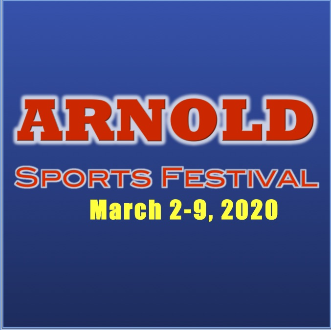 Arnold Weekend Flyer Logo 2020